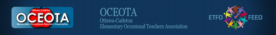 OCEOTA - Ottawa-Carleton Elementary Occasional Teachers' Association